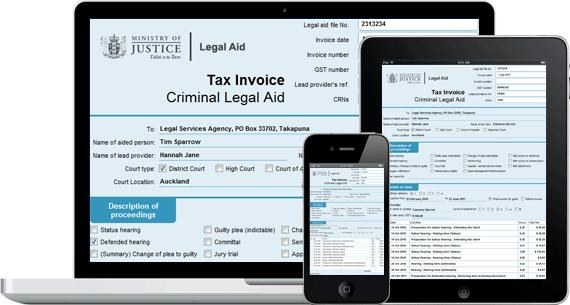 Client Management Application - Lawyer Admin